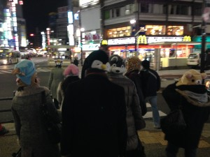 2014年01月05日新年会に向かう途中