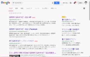 Google2014年3月14日からの検索結果