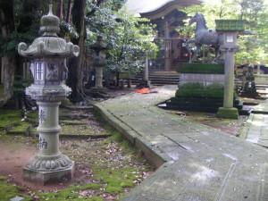 狭野神社(能美市) 境内