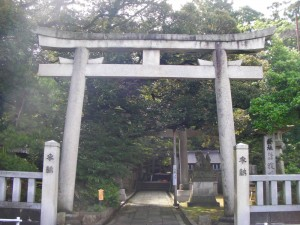 狭野神社(能美市) 第一の鳥居