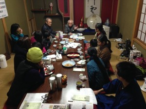 2014年12月14日禊カフェでのお茶会
