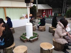東京大神宮休憩場所
