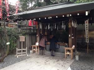 東京大神宮手水舎