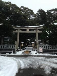 2015年1月3日参拝・狭野神社