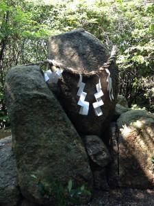 越木岩神社磐座