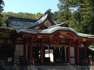 越木岩神社本殿